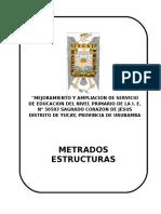 caratula METRADOS -ESTRUCTURAS.doc