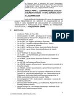 TDR EHIDRO-ECOCHAS 2020