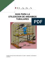 UTILIZACION Y ARMADO DE ANDAMIOS FDS 26-09-19