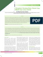 Faktor – Faktor Penyebab Pending Klaim Rawat Inap di RSUD Koja tahun 2018.pdf