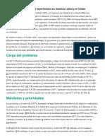 Prevención y control de la hipertensión en América Latina y el Caribe