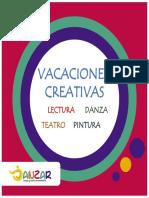 Programa Vacaciones Creativas