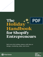 2019 - The Holiday Handbook for Shopify Entrepreneurs - Pixel Union x Out of the Sandbox