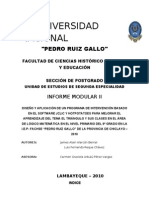 Informe Modular II