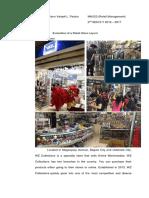 Retail Evaluation