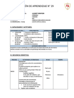 SESIÓN DE APRENDIZAJE N° 29 3er Grado.docx