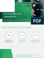 BCG PricingMaturityAssessment Insights 2019