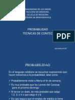 8.- PROBABILIDAD (TECNICAS DE CONTEO)
