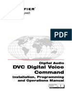 DVC and DAA Installation, Programming and Operations Manual (52411)