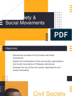 Civil Society and Social Movements