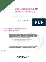 Guide Réglementation Obligations Norme Cuisine Professionnelle