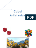 Cubul Arii si Volum