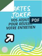 Cartes Joker Pour l'Entretien d'Embauche
