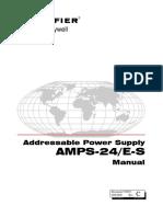 AMPS-24E Intelligent Power Supply Manual 51907 (Versión antigua)