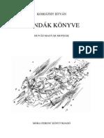 Komjáthy István - Mondák könyve
