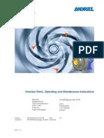 Centrifugal pump - ACP - Manual-v2.2_en