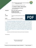 INFORME N° 05 - 2020 -ACERCA DEL DESLIZAMIENTO DE MATERIAL - CORTE BLANCO