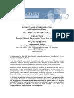 Philippines_Bank and Finance Regulation