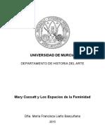 TESIS Mary Cassatt y Los Espacios de la Feminidad (MARIA FRANCISCA LIAÑO BASCUÑANA).pdf