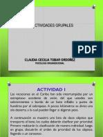 Actividades grupales
