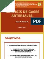CLASE GASOMETRIA ARTERIAL