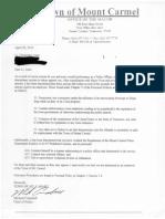 Chris Jones Partial Personnel File