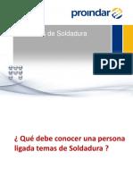 Procesos Soldadura PROINDAR - CACERES