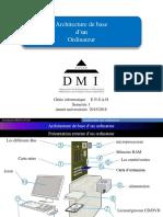 .architecture de base et circuits logiques