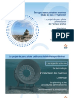 Hydroliennes Conf Abonnel