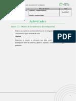 Metodología de la investigación Matriz de consistencia
