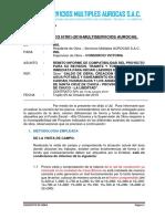 INFORME DE COMPATIBILIDAD AUROCAS