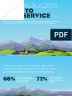 Salesforce - The Trailblazer's Guide to Field Service eBook