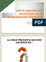 normativa_y_programación didáctica.ppt