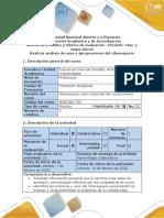 Guía de actividades y rúbrica de evaluación - Fase 1 - Evaluación inicial