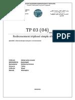 Tp03 Chellal x2,Benhanifia,Amora,Benlekhal,Bahadj