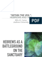 A Hebrews and 1844 - Keynote