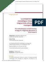La complementariedad metodológica_ Estrategia de integraciónde enfoques en la investigación social.pdf