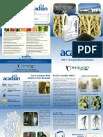 ACADIAN - fertilizzante a base di alghe