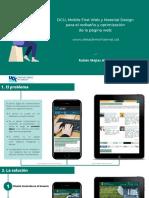 DCU, Mobile First Web y Material Design para el rediseño y optimización de la página web