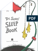 Sleep-Book by Dr Seuss