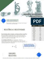 sensores resistivos, piezo e circuitos