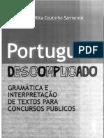 Livro Português Descomplicado - Flávia Rita