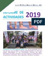 Informe 2019 Pie Feliz