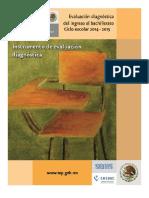 CUADERNILLO DE DIAGNOSTICO