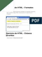 Ejercicio de HTML Clase 15-5