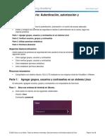 2.5.2.5 Lab - Authentication Authorization Accounting - ILM1.docx
