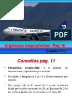 4 aula Urgências respiratórias