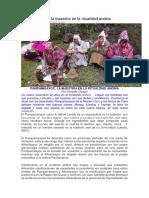 Pampamisayoc, la maestría en la ritualidad andina