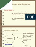 Interval Estimation 2