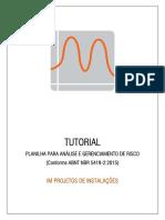 Tutorial - Análise de Risco (1.1.0)
